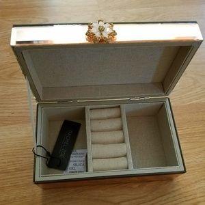 Rachel Zoe Glass Jewelry Case